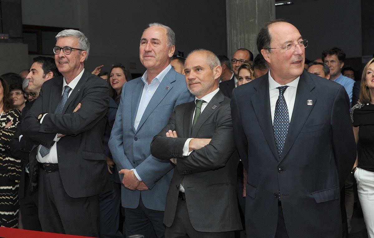 Jesus Angel Pisano, Antonio Gato, Victor Caramanzana y Carlos Moro