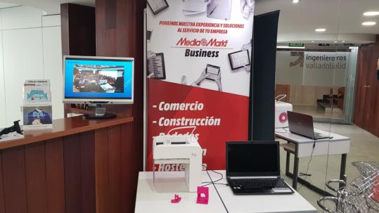 El rincon de Media Markt ingenierosVA impresora 3D