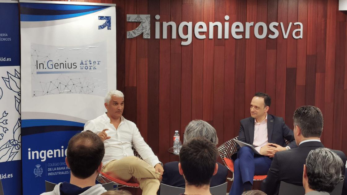 Marco de la Serna InGenius AfterWork IngenierosVA Javier Escribano