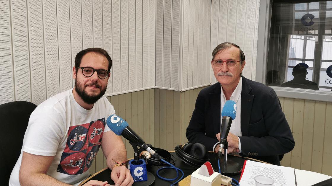 Óscar García Arias cadena COPE Valladolid - ingenierosVA