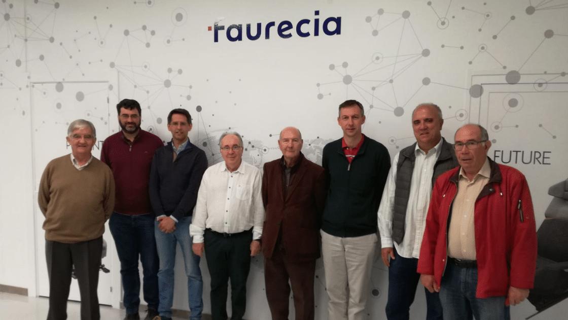 Visita ingenierosVA Faurecia