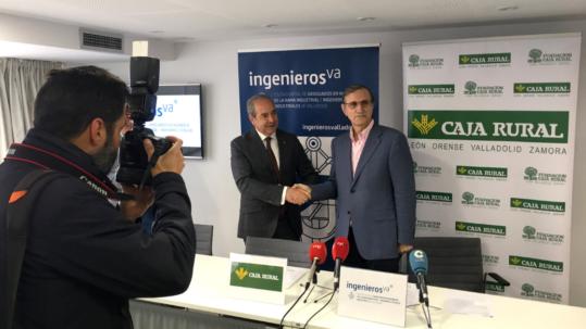 Caja Rural Zamora e ingenierosVA firman convenio de colaboracion