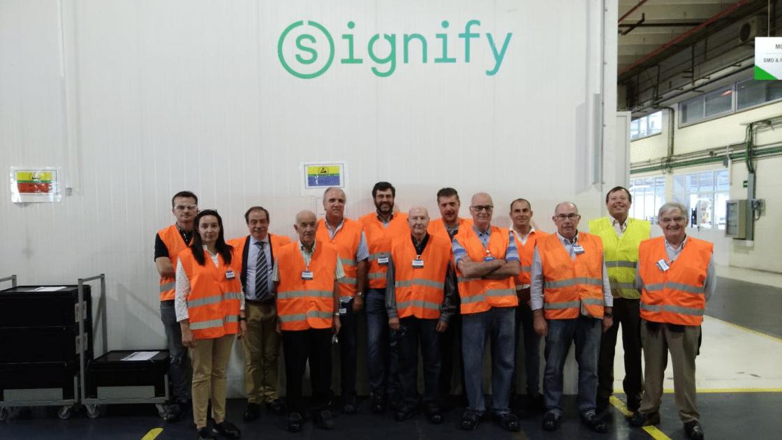 Visita signify grupo de ingenierosVA