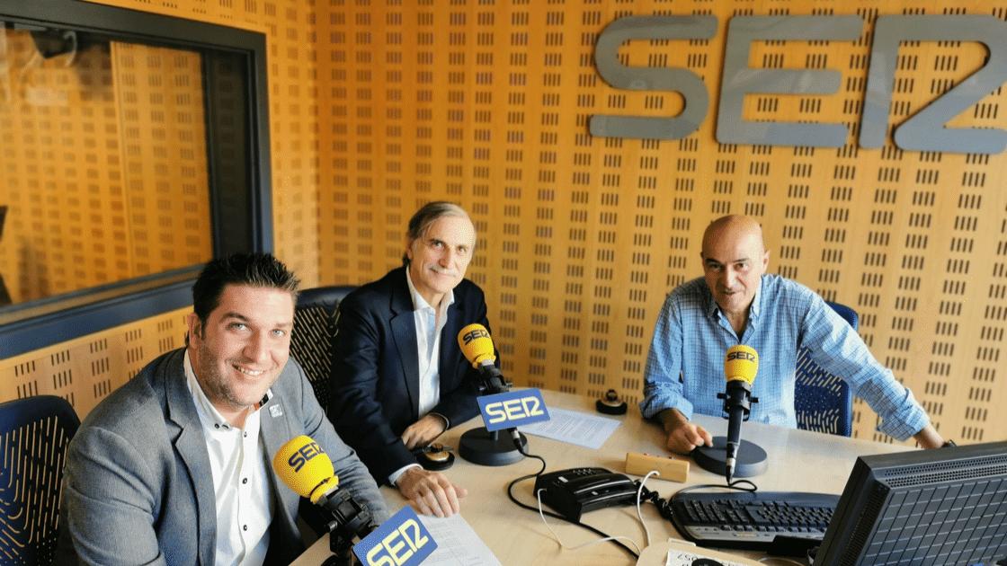 Óscar García Arias en la Cadena SER para hablar de los III Premios de la Industria de ingenierosVA
