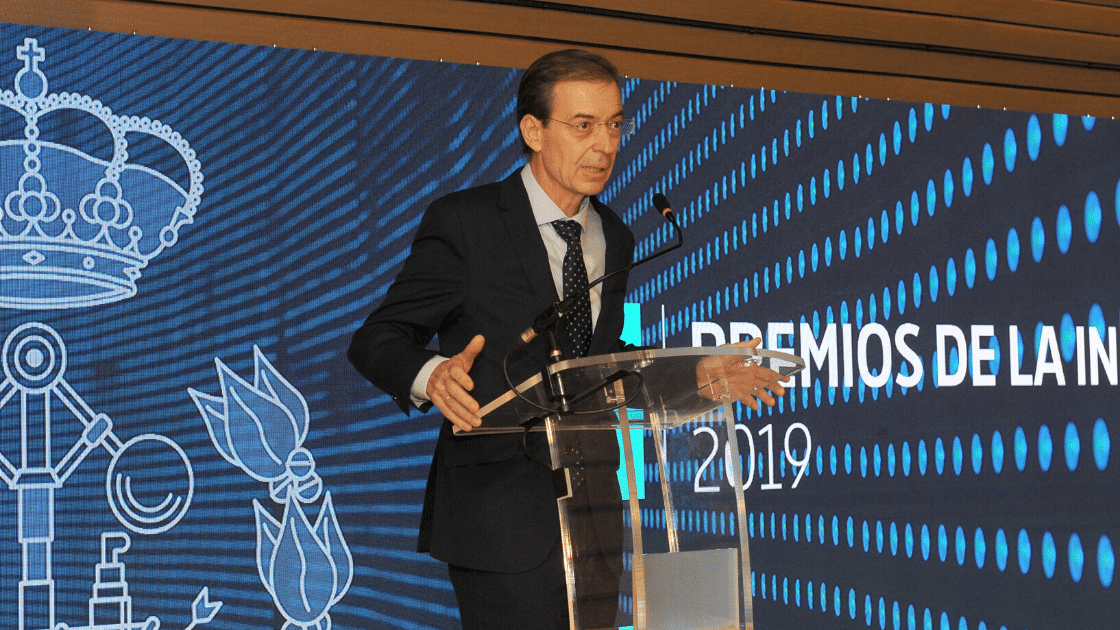III Premios de la Industria de ingenierosVA Germán Barrios Consejero de Industria