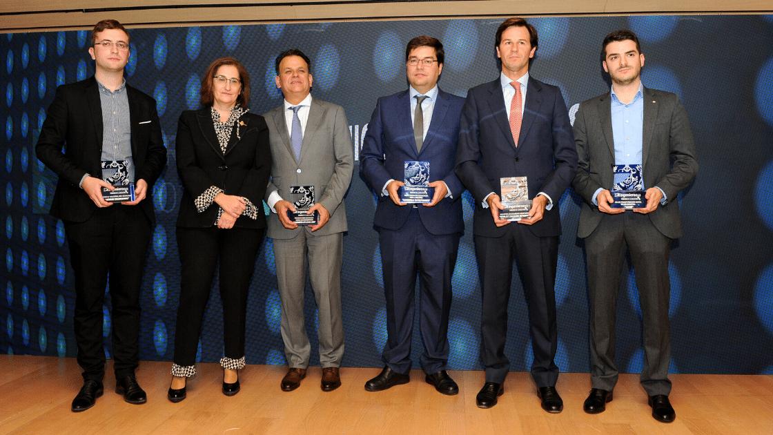 III Premios de la Industria de ingenierosVA Germán Barrios Consejero de Industria ganadores