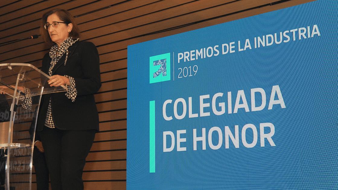 III Premios de la Industria de ingenierosVA Germán Barrios Consejero de Industria ganadores Maria de la Paz Robina Directora General Michelin