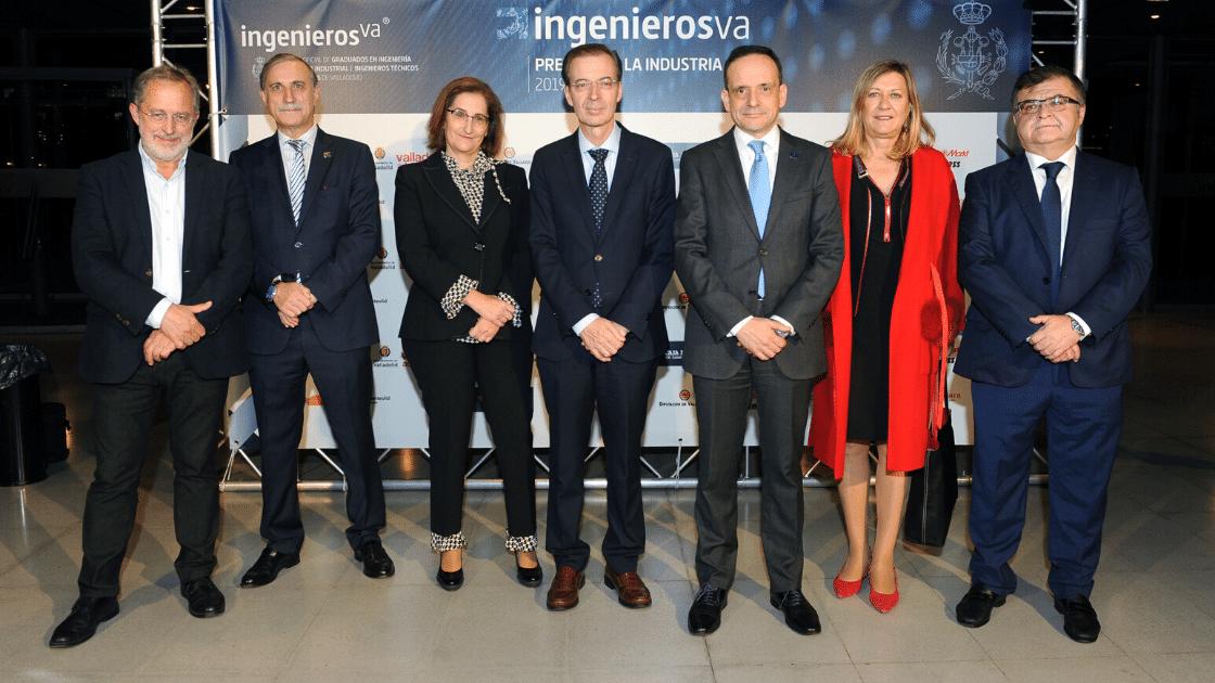 III Premios de la Industria de ingenierosVA Germán Barrios Consejero de Industria ganadores autoridades photocall