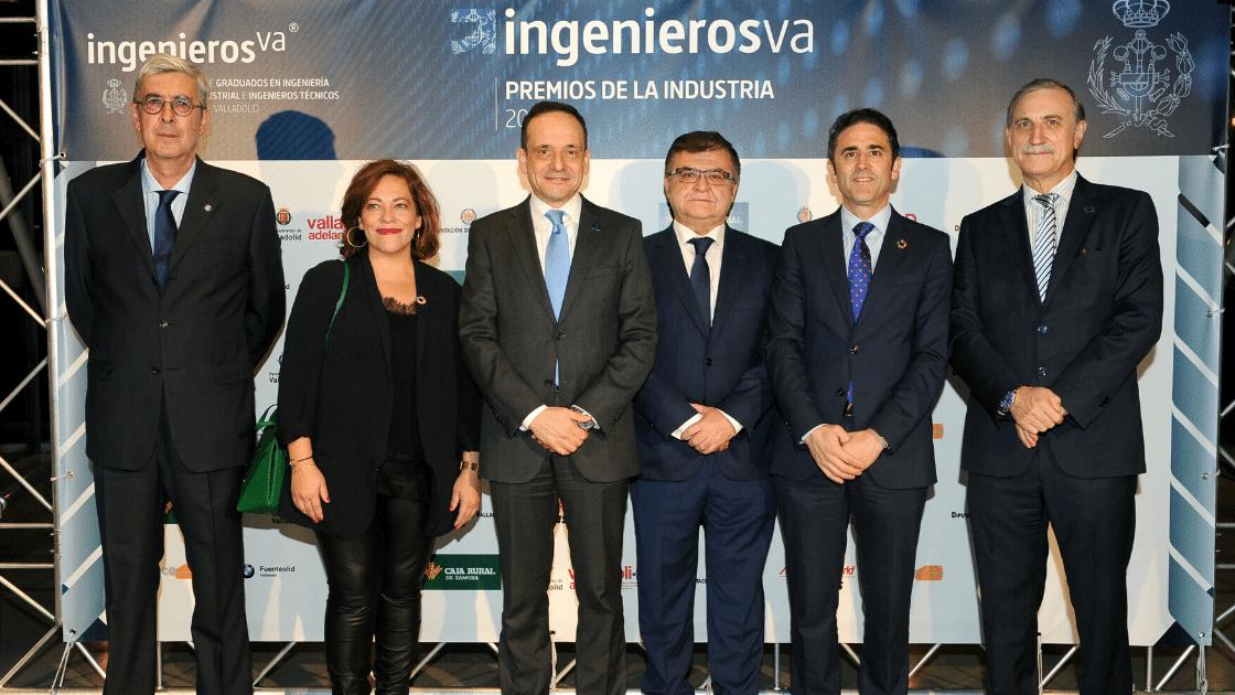 III Premios de la Industria de ingenierosVA Germán Barrios Consejero de Industria ganadores miembros del jurado