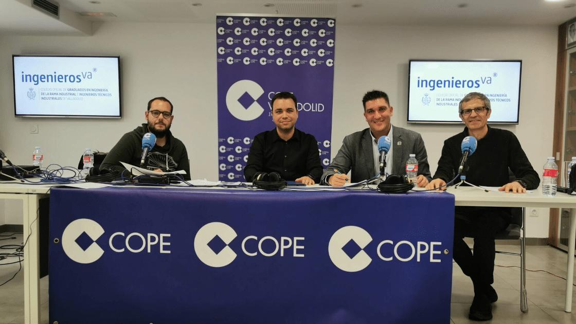 Cope Valladolid programa en directo desde ingenierosVA Premios de la Industria