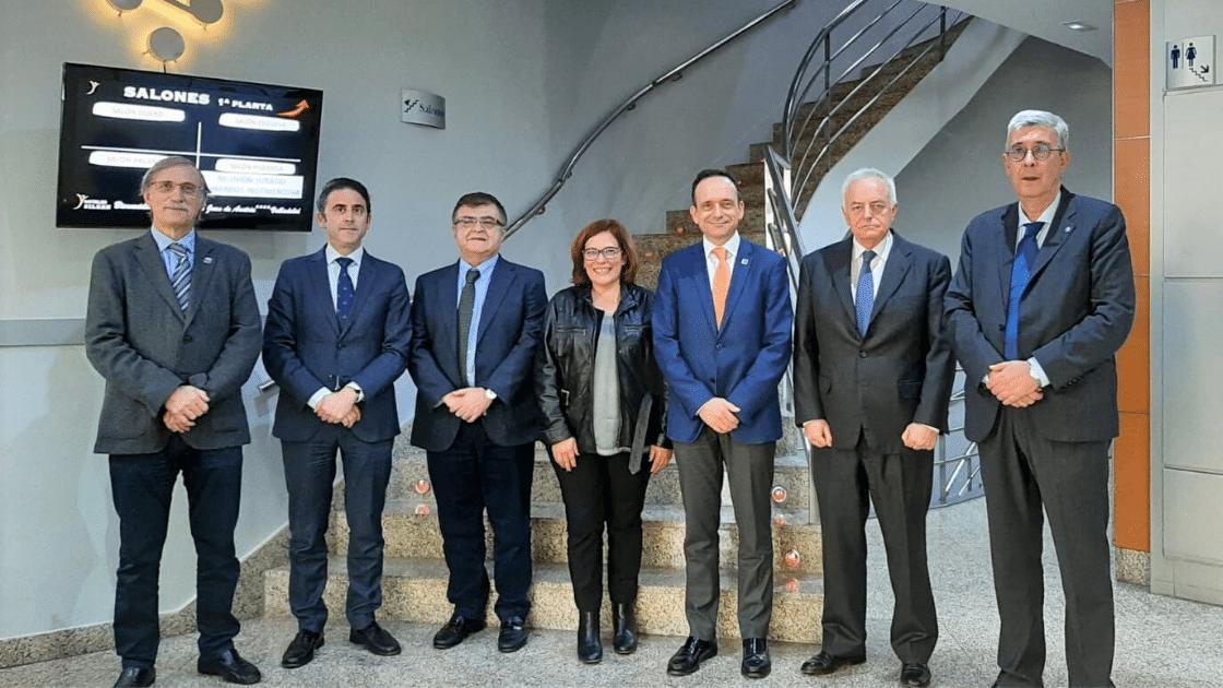 Foto de los miembros del jurado de los III Premios de la Industria de ingenierosVA (1)