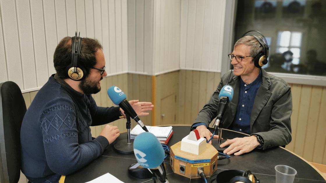 Pedro Cea, secretario técnico de ingenierosVA en cadena cope valladolid
