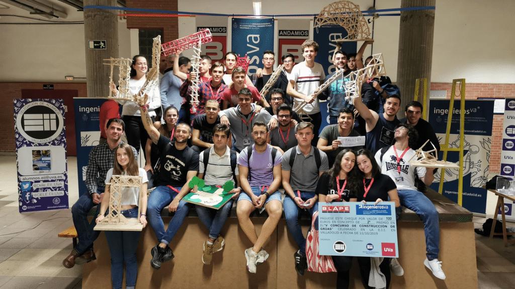 V Concurso de Gruas ingenierosVA - foto familia