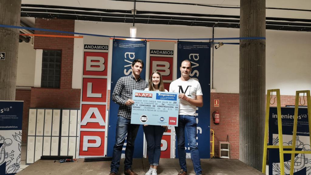 V Concurso de Gruas ingenierosVA - primer premio
