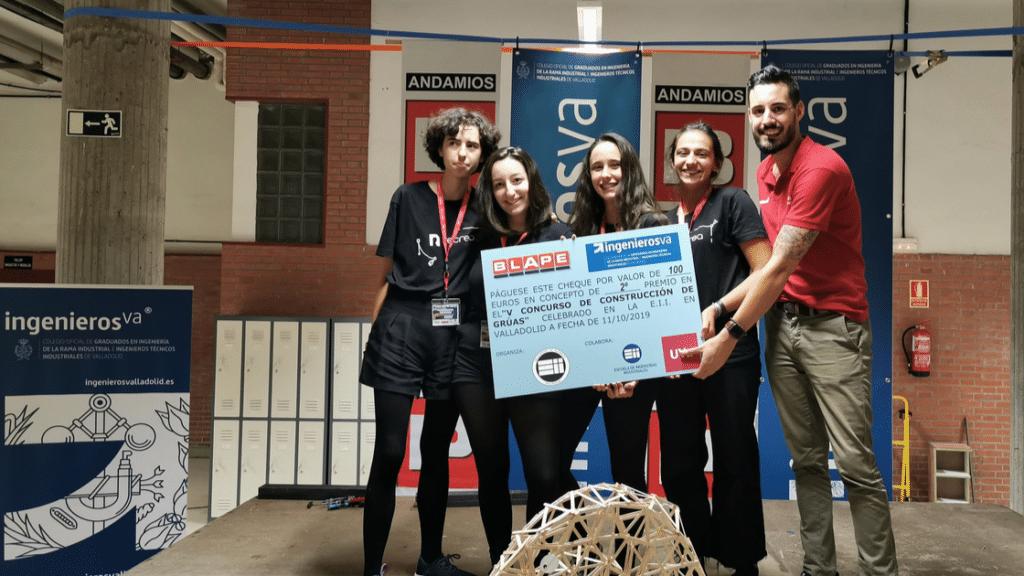 V Concurso de Gruas ingenierosVA - segundo premio