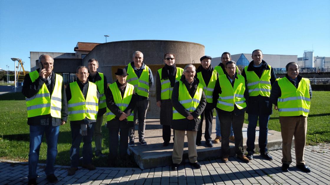 Visita EDAR comisión relaciones con la industria
