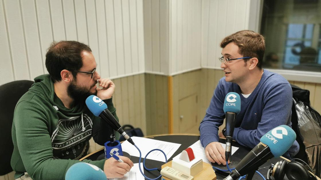 Miguel Ampudia en cadena cope - ingenierosVA