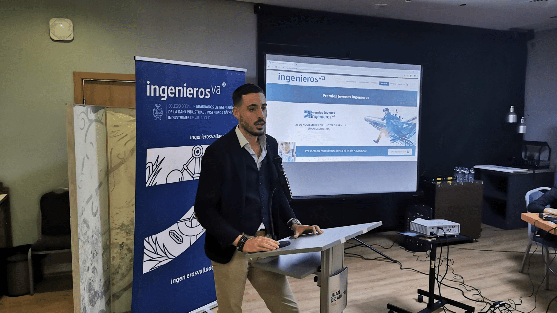 Premios Jóvenes Ingenieros - ingenierosVA Borja Fernández