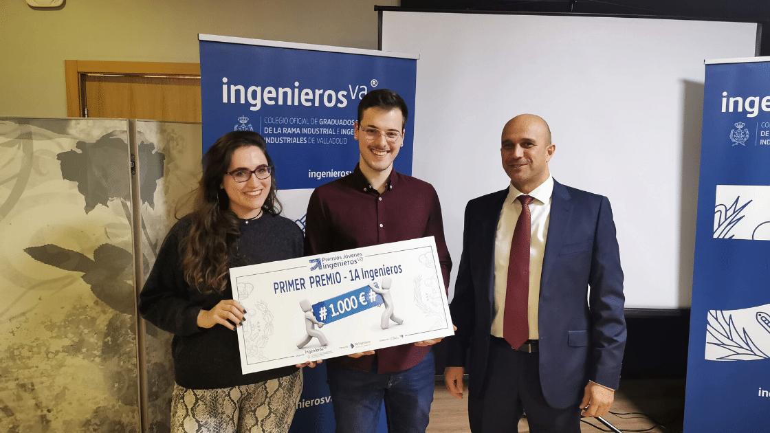 Premios Jóvenes Ingenieros, primer premion 1A ingenieros - ingenierosVA