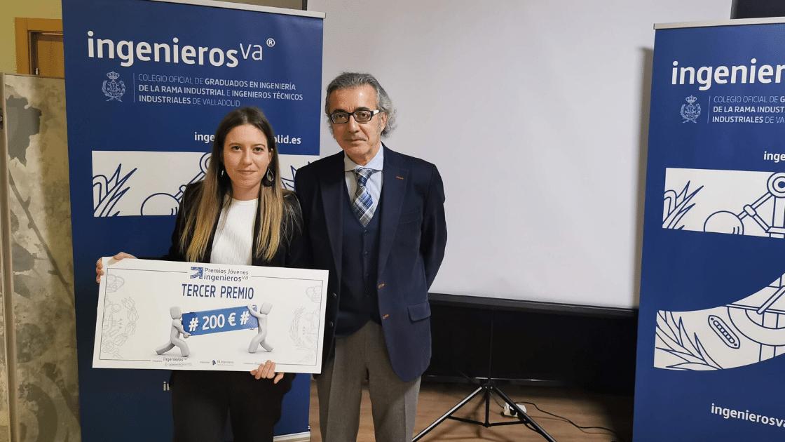 Premios Jóvenes Ingenieros, tercer premio - ingenierosVA