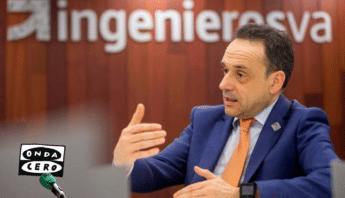 Javier Escribano, decano de ingenierosVA habla en Onda Cero ingeniería Coronavirus