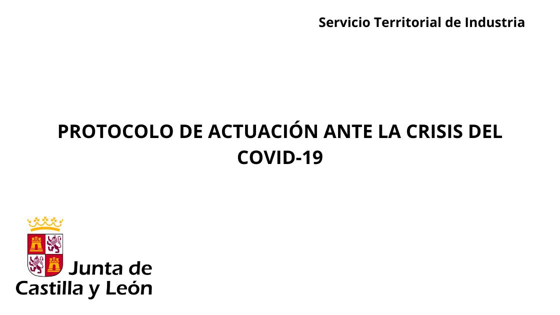 Nota inforamtiva Junta Castilla y León