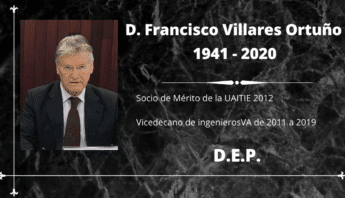 Fallece Francisco Villares Ortuño - ingenierosVA