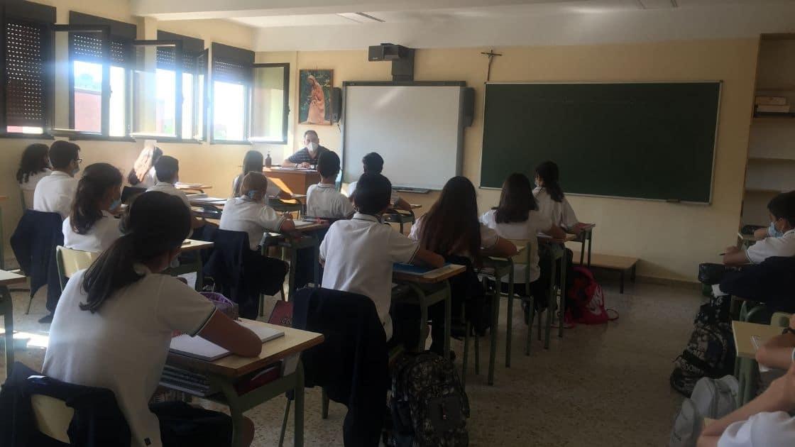 Jesús Rodríguez, profesor en en apostolado