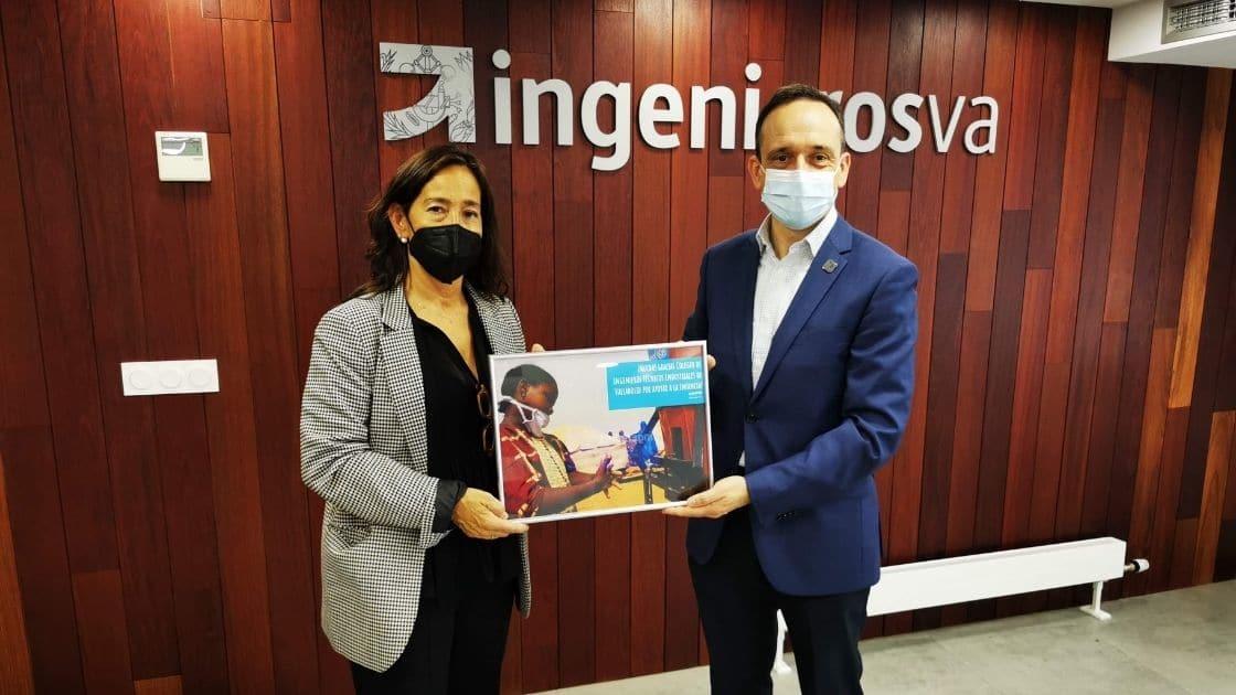 Convenio colaboración UNICEF e ingenierosVA