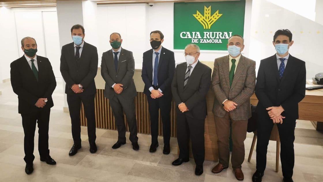 Inauguración de la nueva oficina de Caja Rural de Zamora - ingeneirosVA