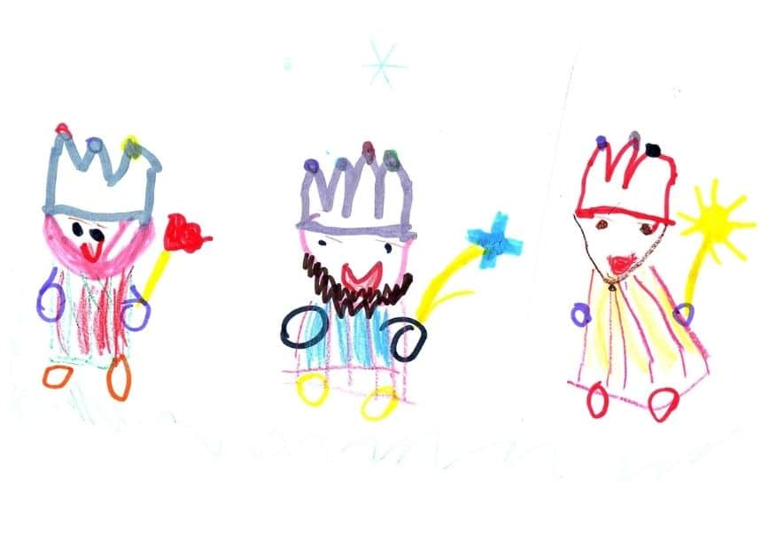 2 hasta 4 años consurso dibujos navidad - ingenierosVA