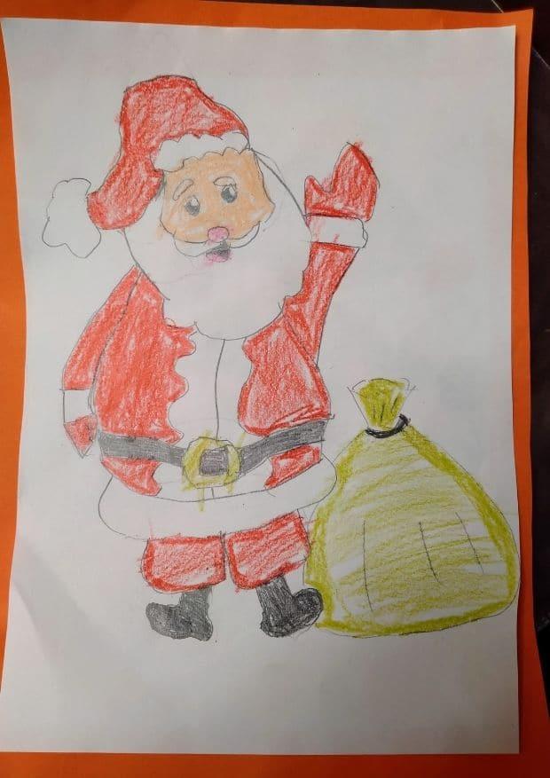 1 hasta 4 años consurso dibujos navidad - ingenierosVA