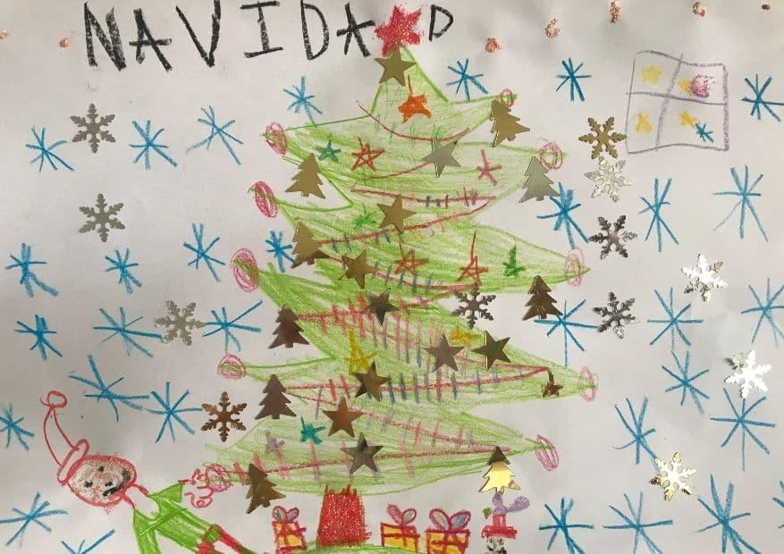 4 5,6 y 7 años de edad concurso navidades - ingenierosVA