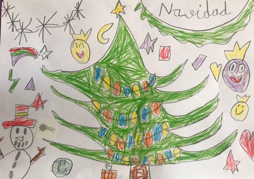 5 5,6 y 7 años de edad concurso navidades - ingenierosVA