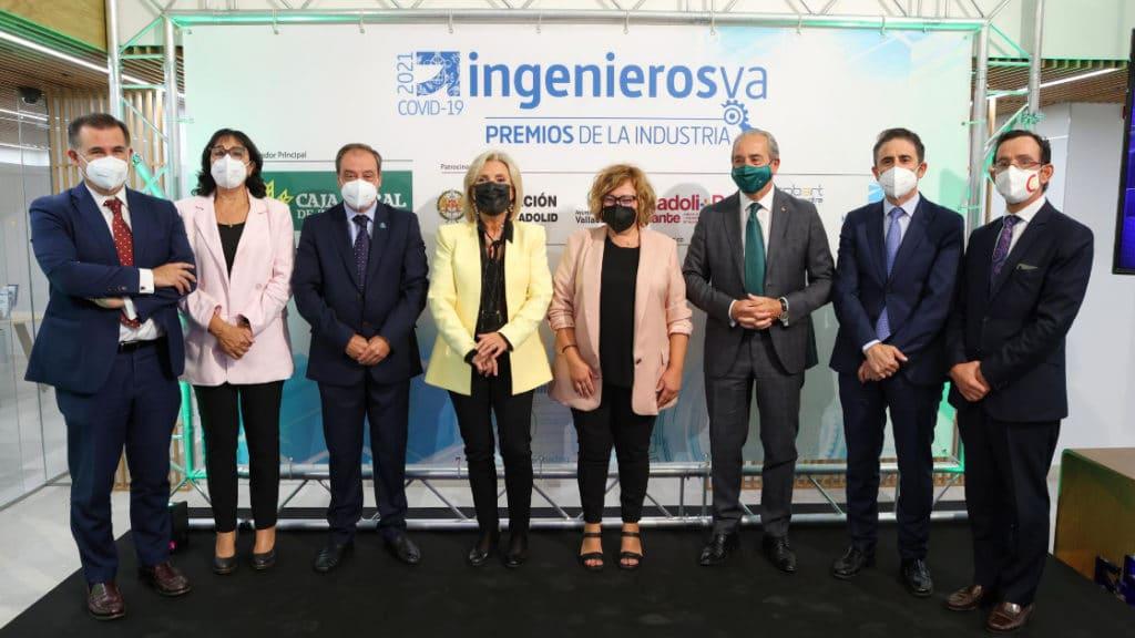 Autoridades de los IV Premios de la Industria de ingenierosVA