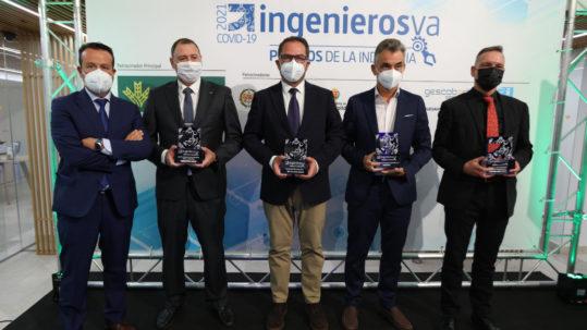 Ganadores de los IV Premios de la Industria de ingenierosVA