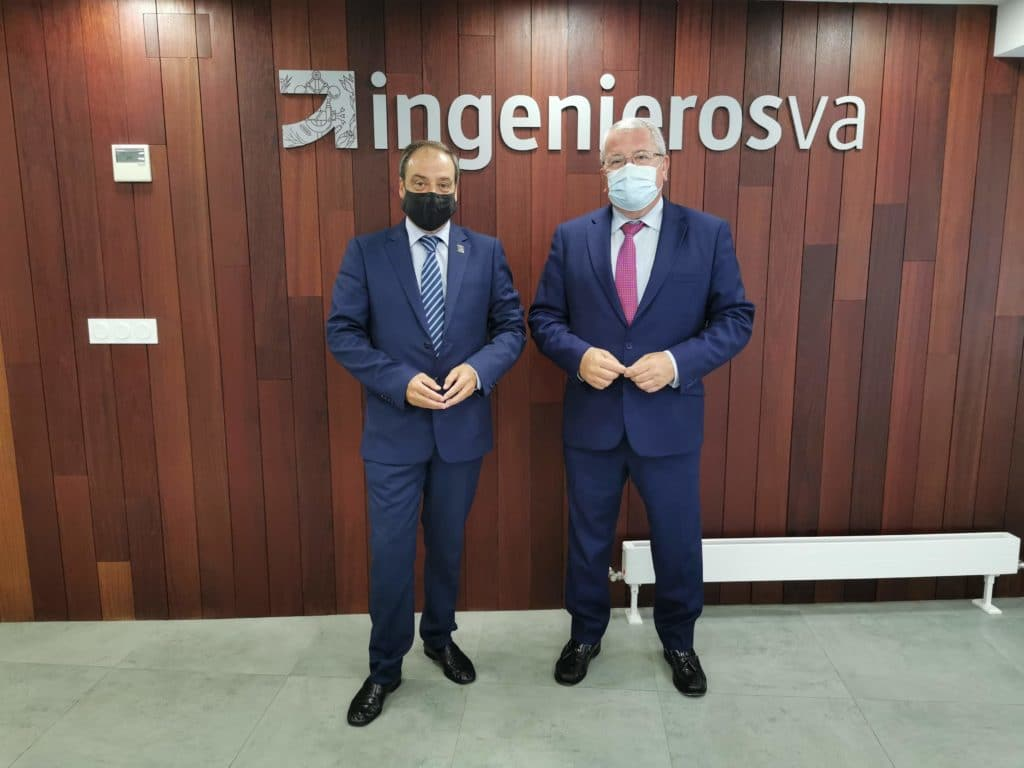 Firma convenio Herrero Brigantina con ingenierosVA