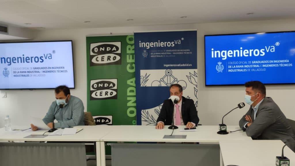 Jose Colodrón y Rafael Álvarez en Onda Cero IV Premios de la Industria ingenierosVA