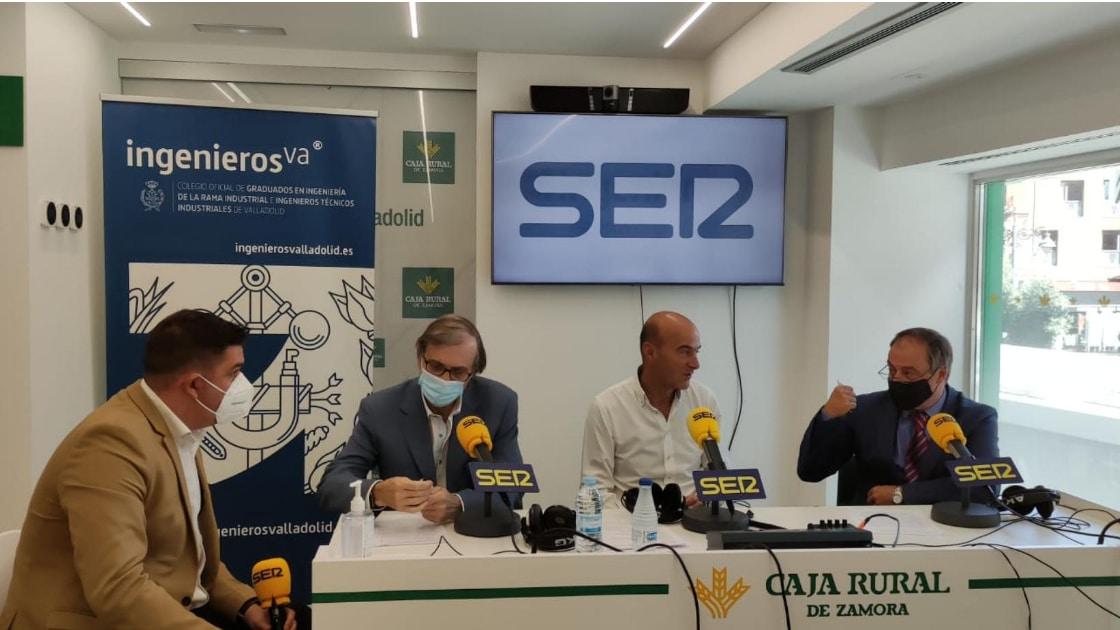 Rafael Álvarez, Oscar Garia y Jose Colodrón en la SER - Premios de la Industria