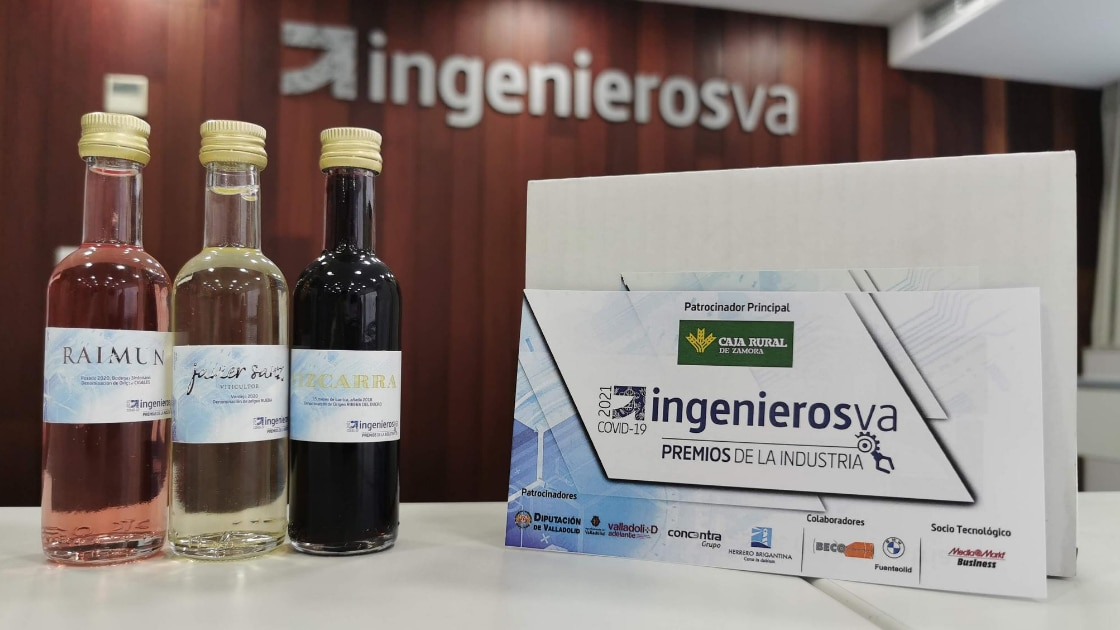 cata vino IV premios de la Industria de ingenierosVA
