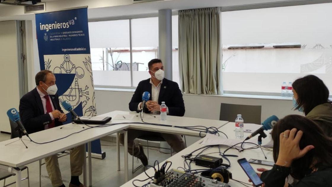 rafael álvarez y Jose Colodrón cope IV Premios de la Industria
